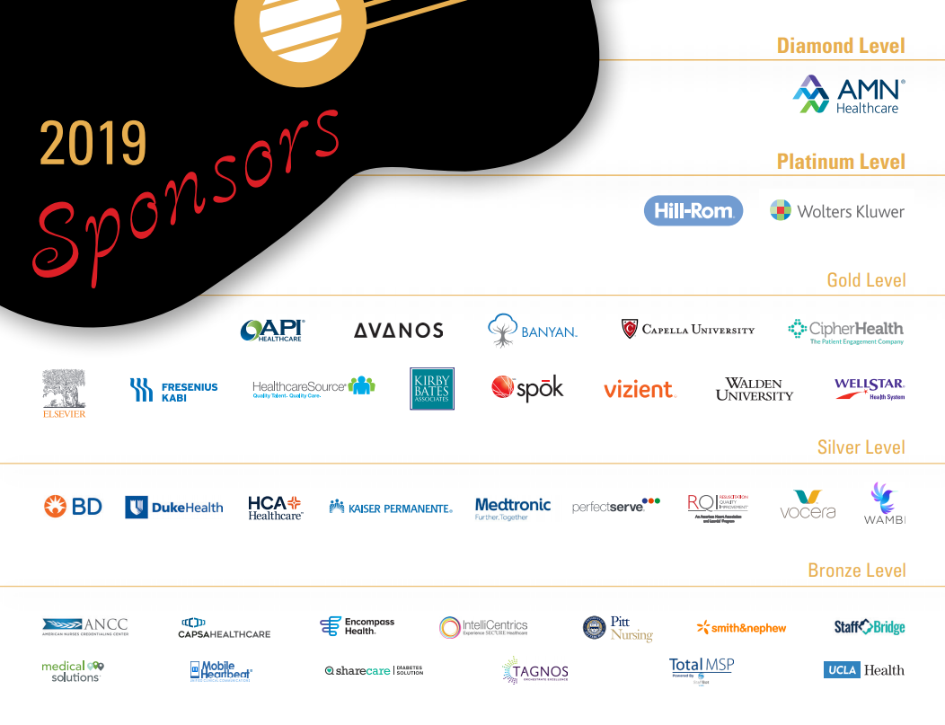 AONE 2019 Sponsors | AONL